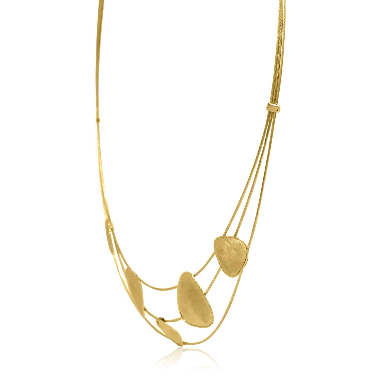 שרשרת זהב קולייר לאישה  שרשרת זהב לאירוע