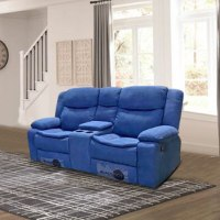 ספה 2 מושבים ג'ק מרלו (בד כחול)