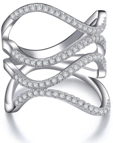 טבעת יהלומים אינפיניטי