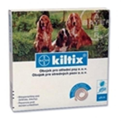 """קולר קילטיקס לכלב למניעת קרציות עד 8-20 ק""""ג"""