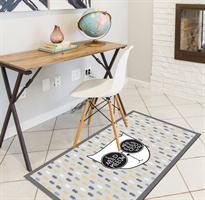 שטיח PVC לבית דגם חתול וחצים