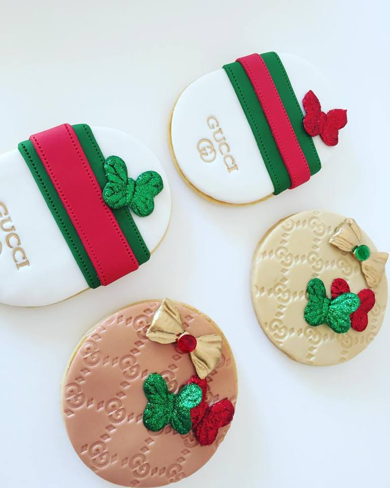 Set of 3 Gucci logo Stamps