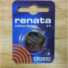 8 יחידות סוללות ליטיום רנטה RENATA LITHIUM CR2032