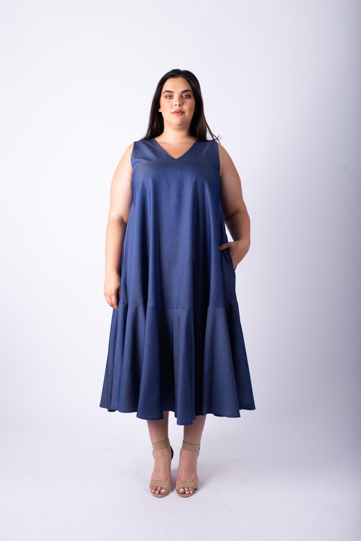 שמלת אנני ג'ינס