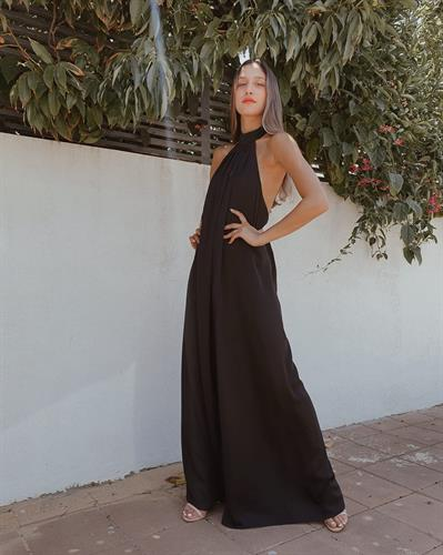 אוברול לאורה - שחור