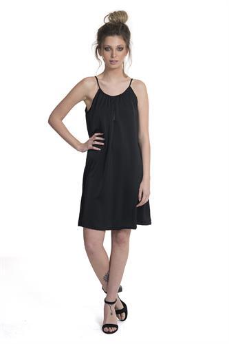 שמלה קים שחור