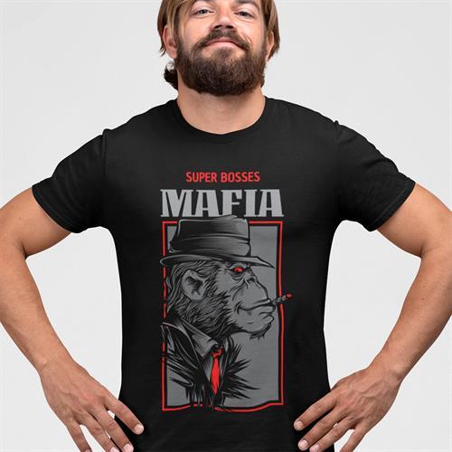 חולצת טי - Super Bosses Mafia