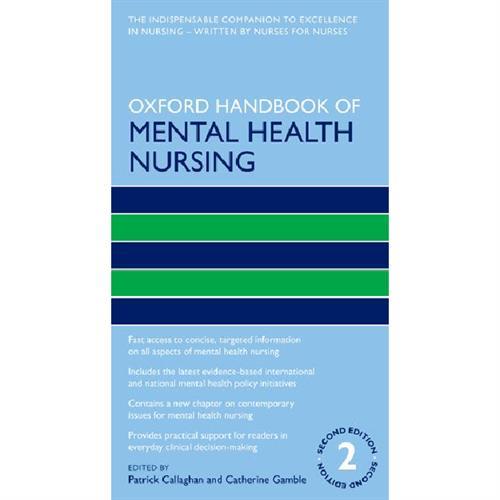 Oxford Handbook of Mental Health Nursin