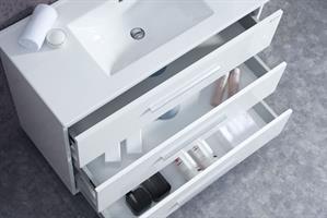 ארון אמבטיה עומד בעיצוב נקי דגם מרקורי MERCURY