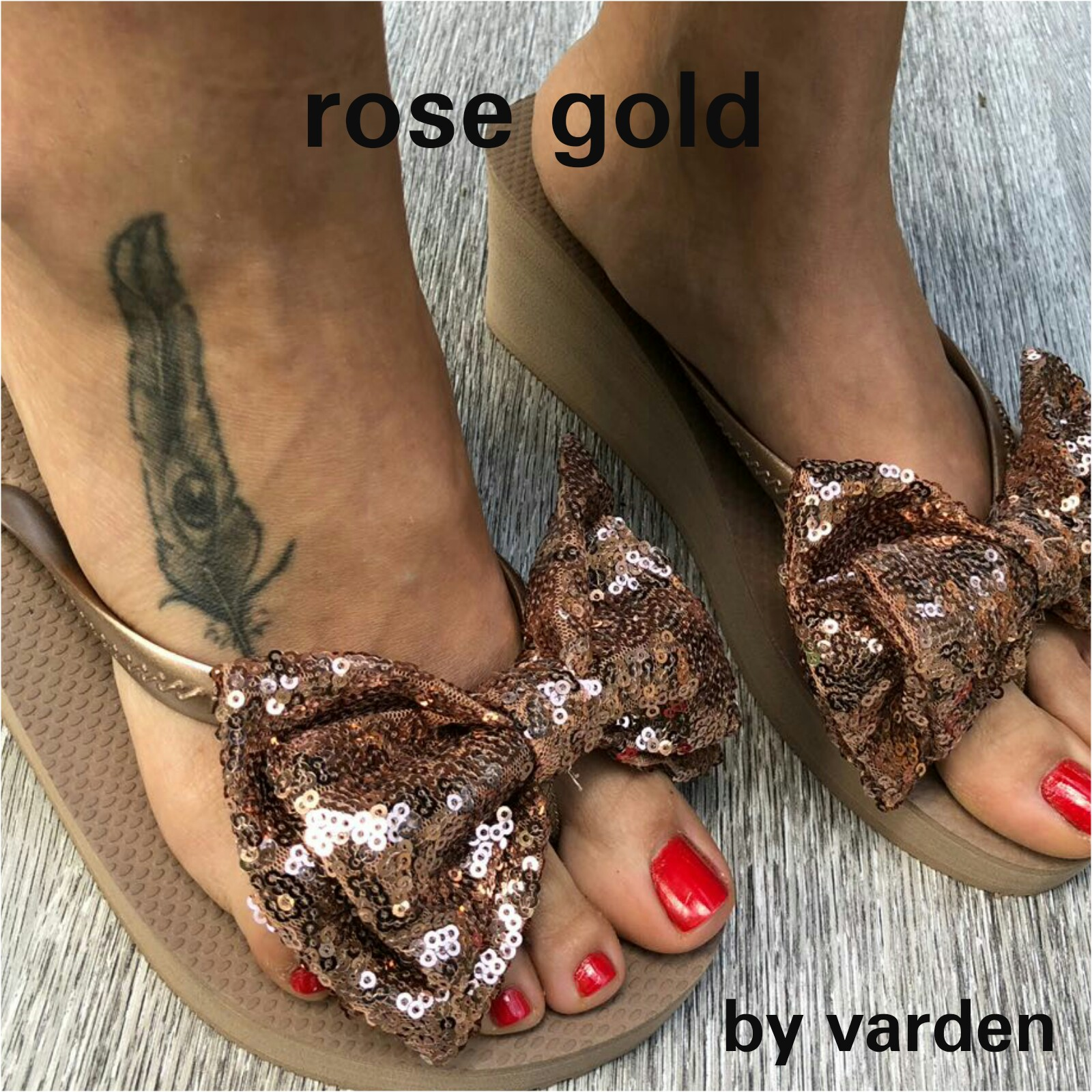 ROSE GOLD HIGH CLEOPATRA
