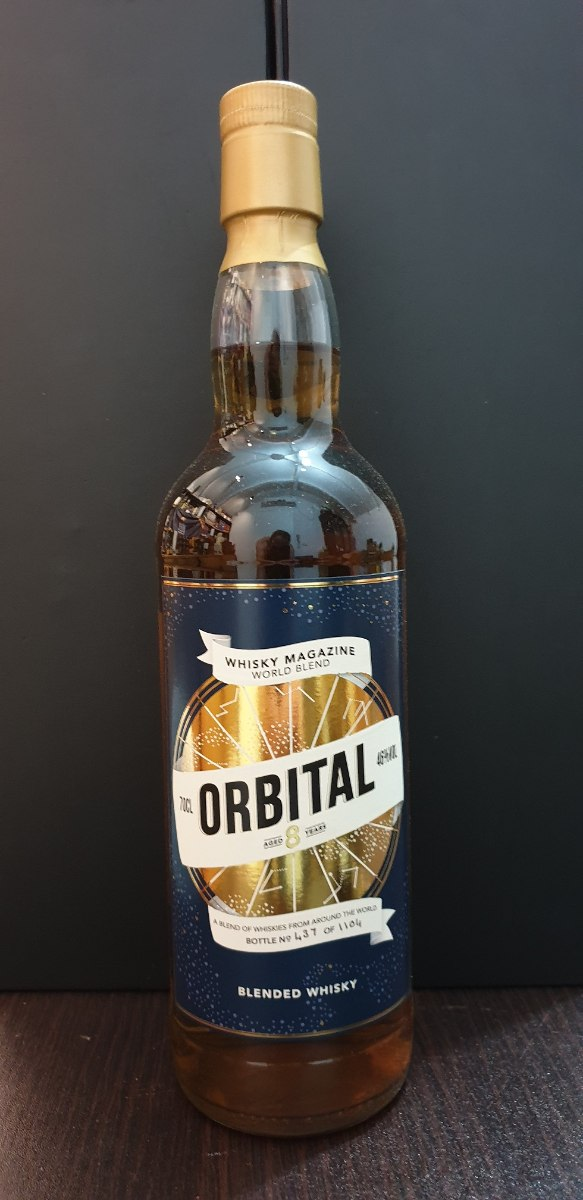 ORBITAL - Whisky Magazine World Blend 700ml. 46%