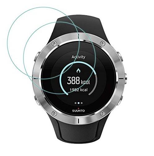 מגן זכוכית לשעון Suunto Spartan Trainer Wrist HR - סט 3 יחידות