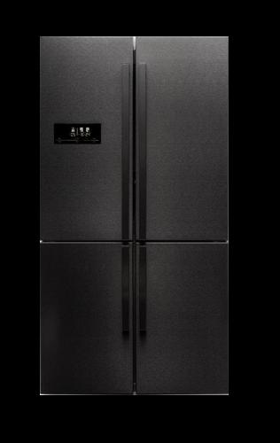 מקרר 4 דלתות טקה 620 ליטר TEKA MAESTRO RMF-75910 נירוסטה כהה BLACK STEAL