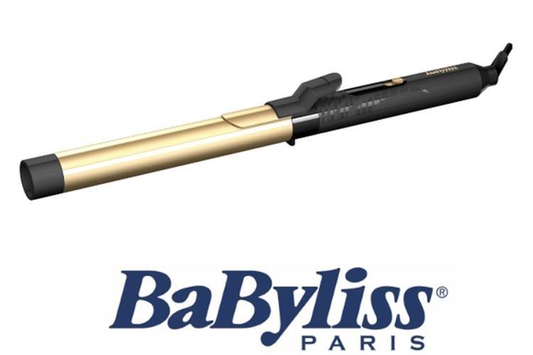 BaByliss מסלסל שיער קרמי מוזהב דגם C425E