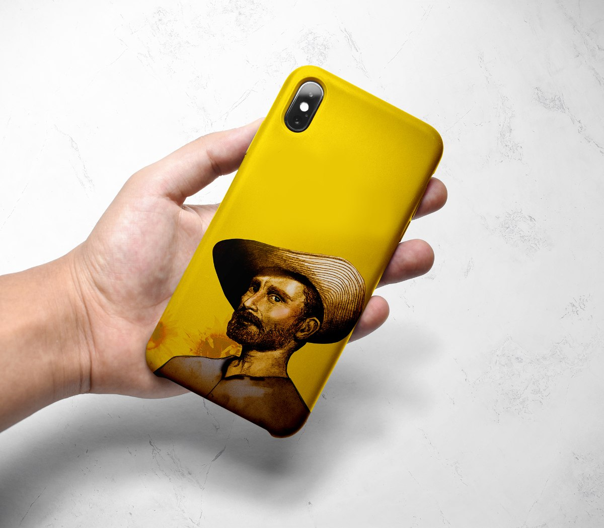 מגן לטלפון נייד - ואן גוך