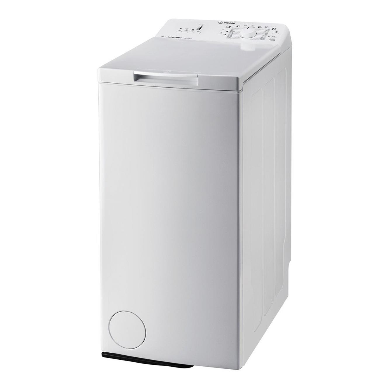 """מכונת כביסה פתח עליון Indesit ITWA 51052 W 5 ק""""ג"""