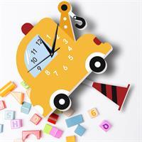 שעון קיר מעוצב- רכב
