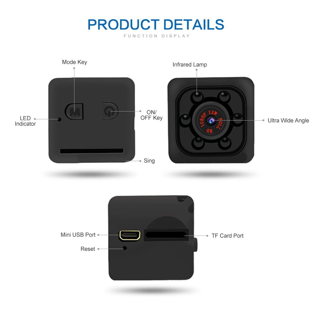 מצלמת קוביה רב שימושית אלחוטית - Cube HD