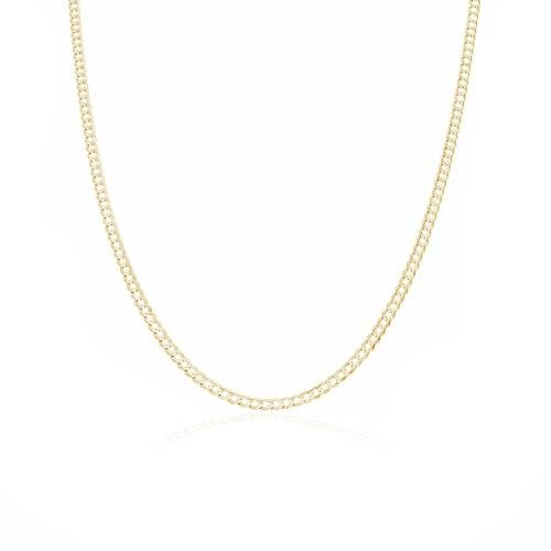 שרשרת זהב חוליות עדין 50 סמ