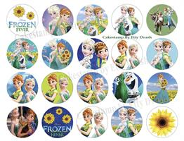 Frozen fever Transfer sheet
