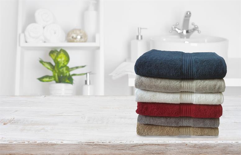 מגבת גוף 100%כותנה טהורה ב6צבעים