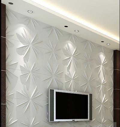 חיפויי קיר תלת מימדי דגם ''meldal'' בגודל 50X50