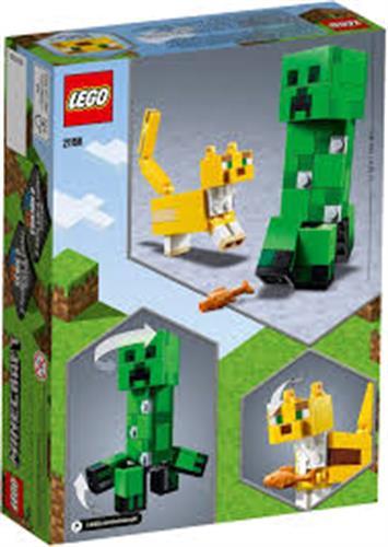 לגו דמות ירוקה וחתול 21156
