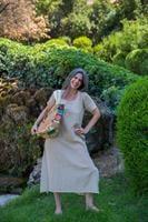 שמלת perfact kurti כותנה ג'וט בד טבעי