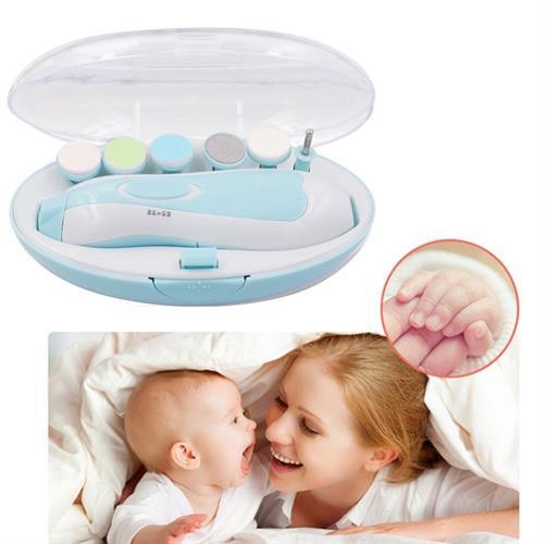 קוצץ ומשייף ציפורניים לתינוק - ללא כאב
