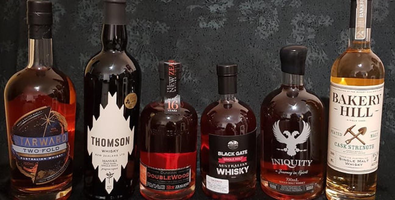 טעימת Australia & New Zealand Whisky   יום חמישי 2/5, 20:00, מזקקת מילק & האני