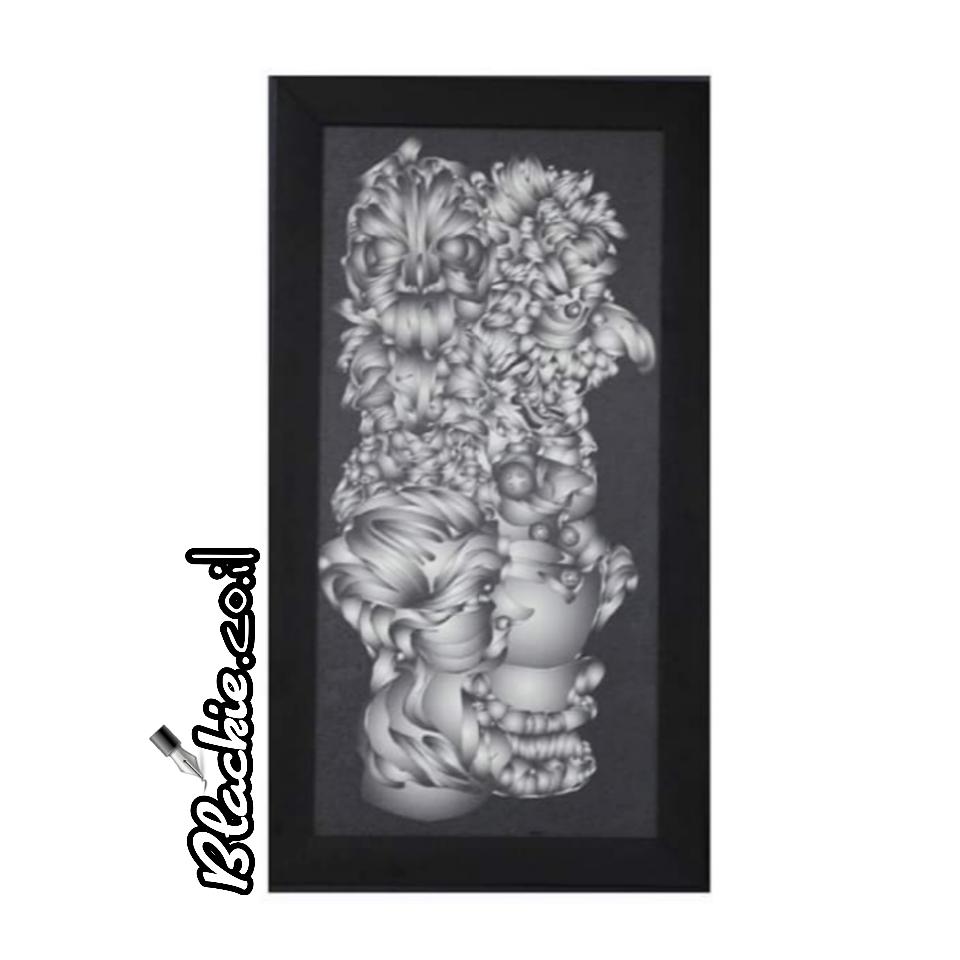 מצג ומכירה להדפס גראפי שם היצירה: קומבינשין ארבע