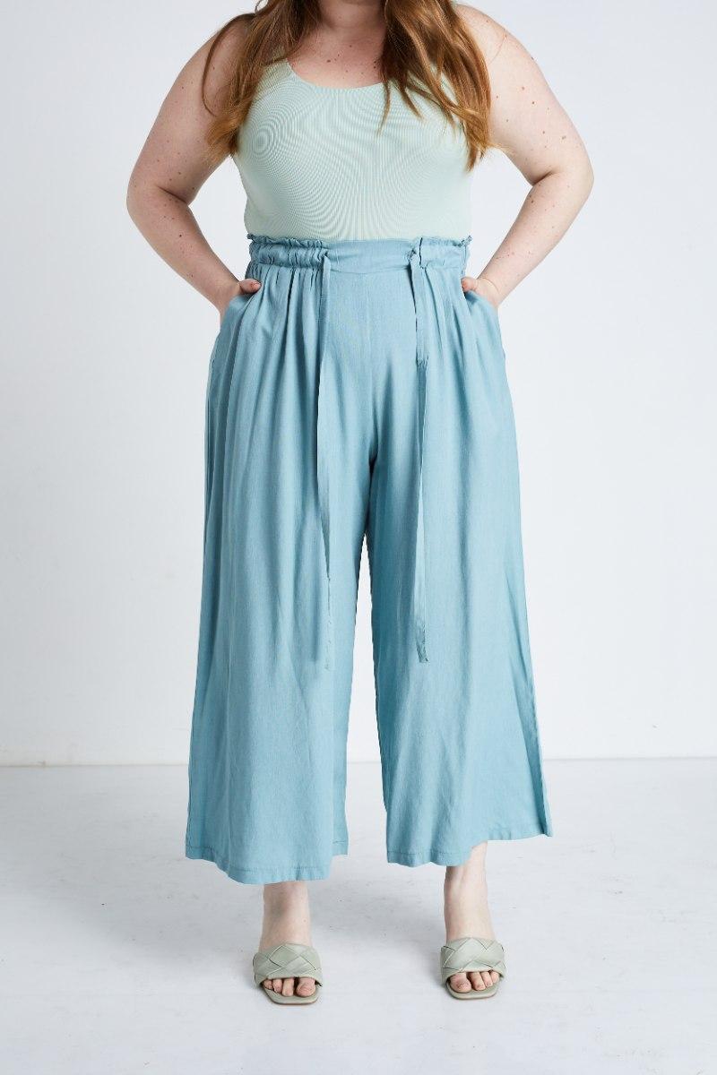 מכנסיי ג'סה כחול אקווה