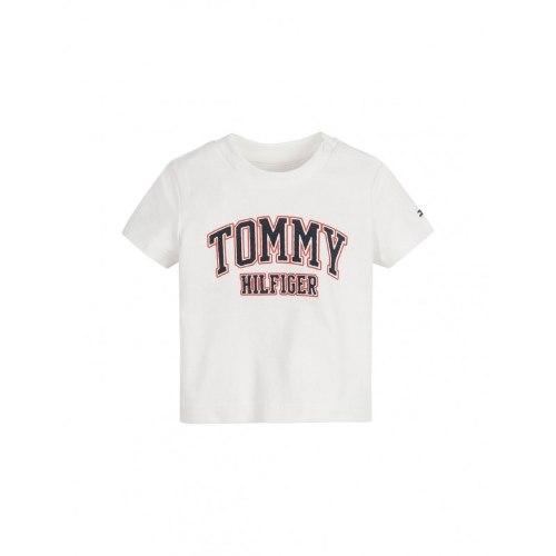 טישירט TOMMY H לוגו כתום ניאון 1-2