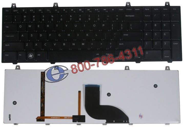 החלפת מקלדת מקולקלת למחשב נייד דל DELL STUDIO 1745 , 1747 , 1749 , XPS 17 L701X , 11MFD 011MFD
