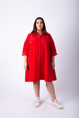 שמלת ניו יורק אדומה