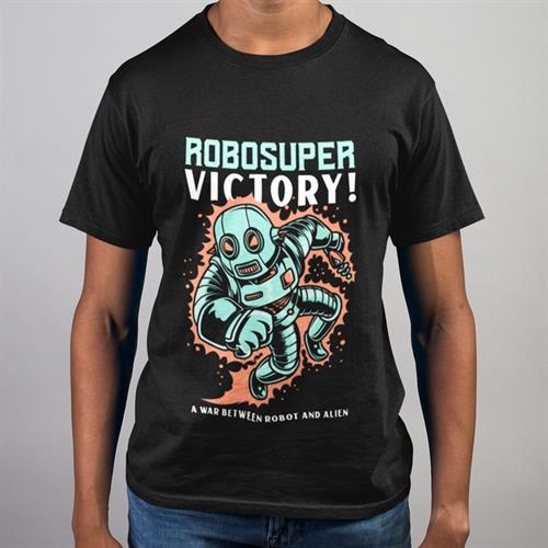 חולצת טי - Robosuper Victory