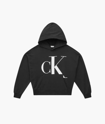 CK קפוצון שחור קרופ בנות מידות 4-16