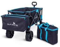 עגלה לקמפינג עם גלגלים רחבים גו גו - OUTLIVING GO GO