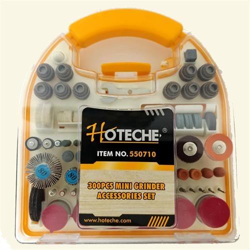 סט מיני גרינדר למכשיר פנאומטי300 חלקים  מבית חברת HOTECHE