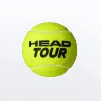כדור טניס HEAD TOUR שלישית כדורים