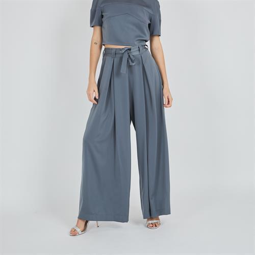 מכנס סטאי ארוך אפור