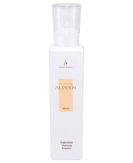 Anna Lotan Alodem Calendula Cleansing Emulsion-אנה לוטן אלאודם תחליב ניקוי קלנדולה לעור עם קופרוז