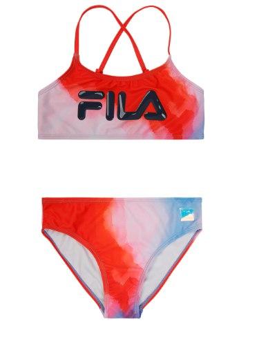 בגד ים ביקיני גוזיה FILA טאי דאי כחול אדום 6-16