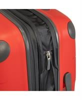 """סט 2 מזוודות קשיחות פוליפרופילן מעולות מדגם """"28+RICARDO BEVERLY HILLS MENDOCINO 20 אדום"""