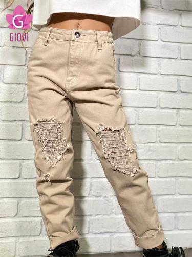 ג'ינס דריל בוי (חום בהיר)