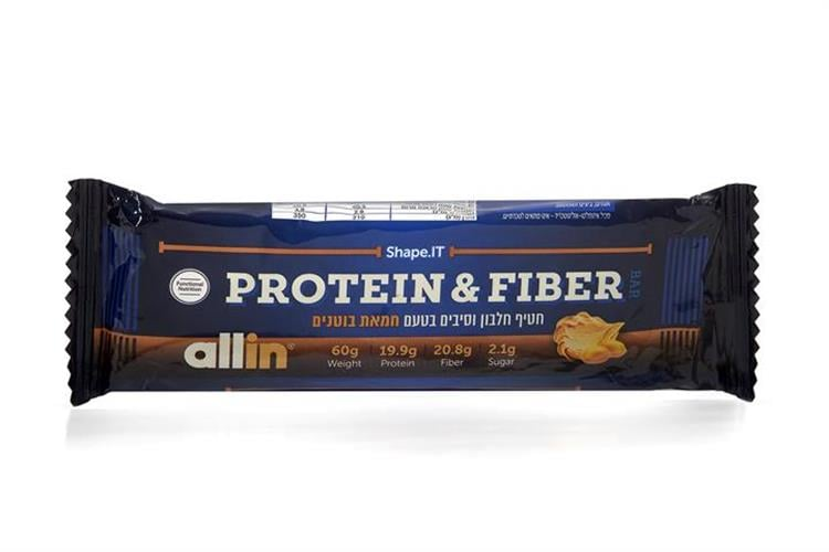 חטיף חלבון שייפ איט|חטיף הסיבים החדש של All In