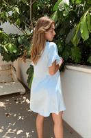 שמלת קוואצ'לה סאטן
