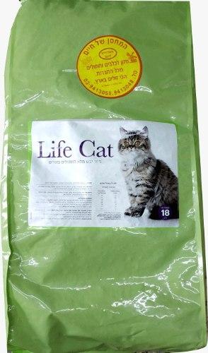 מזון לייף קט לחתולי חצר