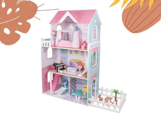 בית בובות מעץ לילדים - ענת