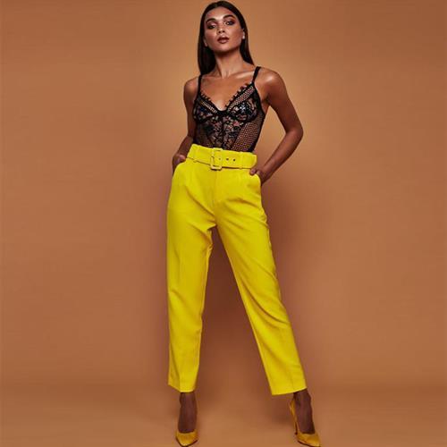 מכנס אלגנט לנשים בארבעה צבעים נדירים